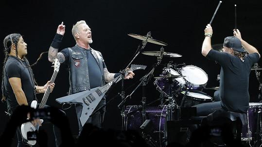Metallica si opět podmanila české metalové fanoušky.