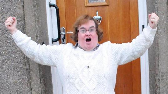 Susan Boyle se na stará kolena dočkala lásky.