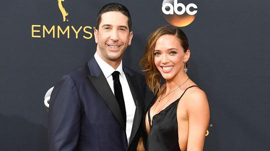 David Schwimmer s manželkou Zoe Buckman