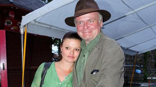 Igor Bareš s manželkou Antonií