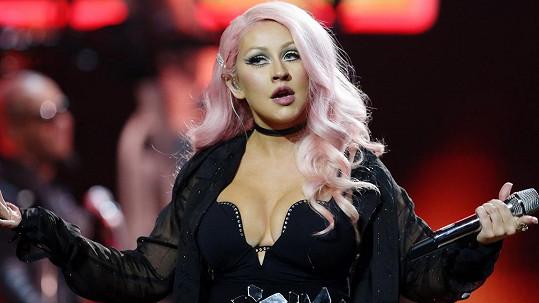 Christina Aguilera v Moskvě