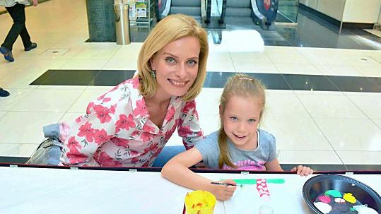 Dcera Kristiny Kloubkové je talentovaná nejen na tanec.