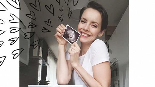 Gabriela Lašková čeká druhé dítě.