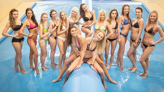Dívky z České Miss s mentorkami
