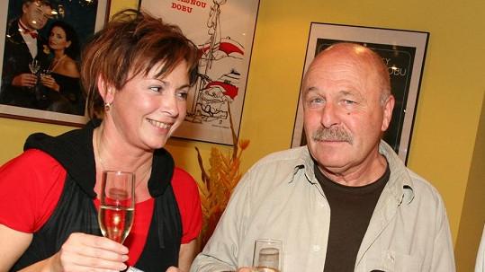Ilona Svobodová a Petr Skoumal spolu žili 25 let.