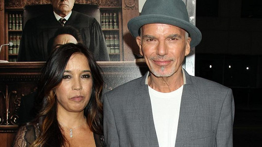 Billy Bob Thornton s manželkou Connie Angland