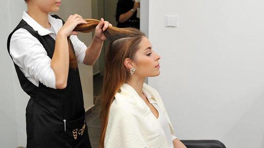 Budková si nechala zesvětlit vlasy, což kvalitě její kštice nepřidalo.