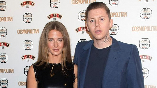 Professor Green a Millie Mackintosh