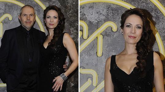 Marek Eben, Tereza Kostková a její hodně sympatický model šatů