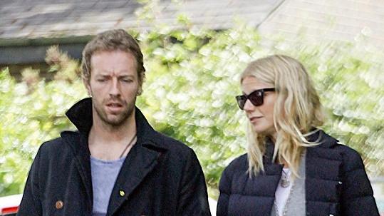 Gwyneth a Chris se nikdy na veřejnosti příliš neobjevovali.