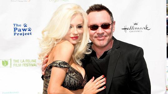 Courtney s milovaným manželem Dougem