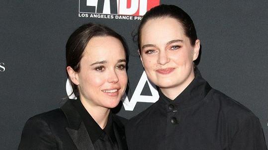 Ellen Page je zamilovaná.