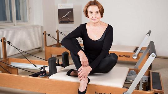 Eva Holubová je se svým tělem spokojená.