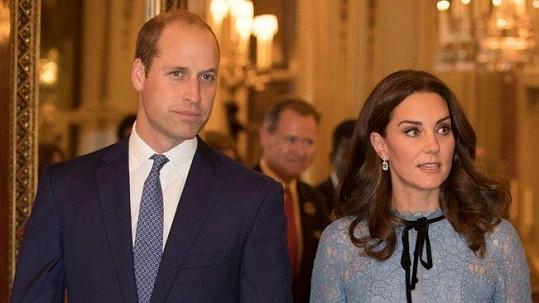 Kate a William se v dubnu dočkají miminka.