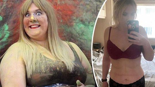 Než začala s hubnutím, vážila Sophie Trewick 150 kilogramů.