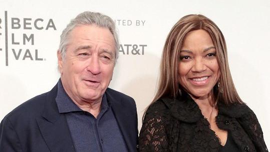 Robert De Niro s manželkou Grace Hightower