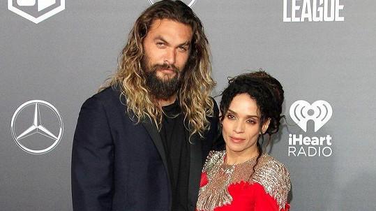 Jason Momoa s manželkou Lisou Bonet