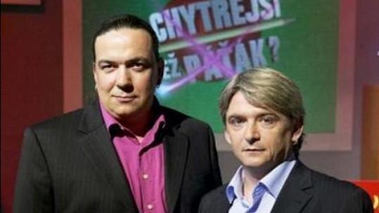 Moderátoři Richard Genzer a Michal Suchánek