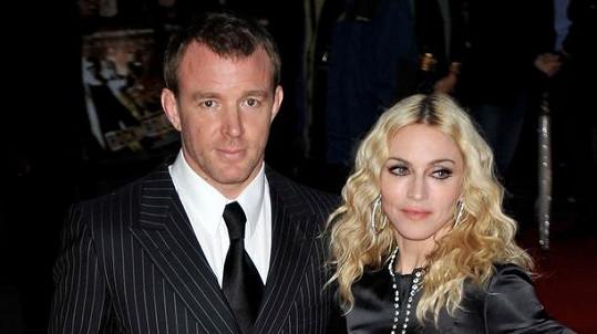 Madonna s exmanželem Guyem Ritchiem