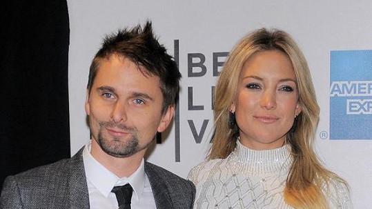 Kate Hudson se rozešla se snoubencem Matthewem Bellamym.