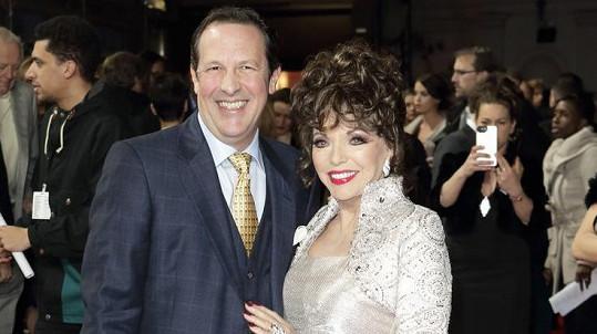 Joan Collins s manželem