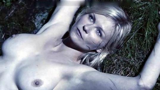 Kirsten Dunst se ve filmu Melancholia ukázala zcela nahá.