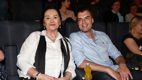 Hana Gregorová a její bývalý přítel Ondřej Koptík