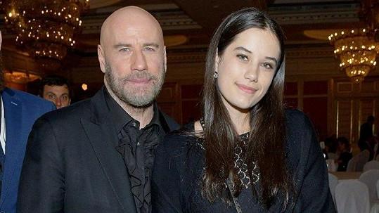 John Travolta s dcerou Ellou Bleu