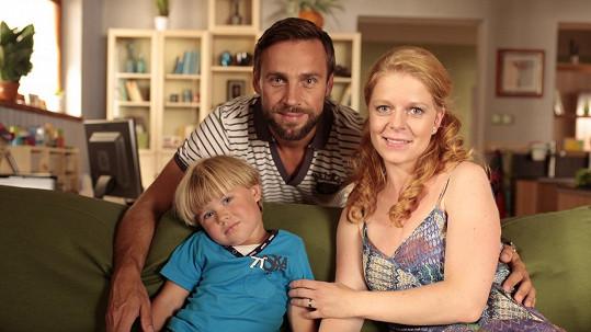 Vojtek a Zoubková ztvární v seriálu Všechny moje lásky manželský pár.