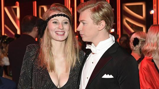 Adam Mišík s přítelkyní Dianou