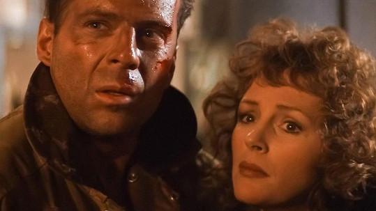 Bruce Willis a Bonnie Bedelia v legendární Smrtonosné pasti