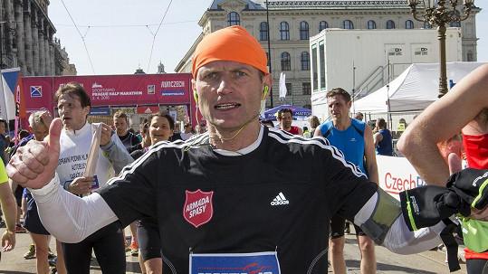 Dalibor Gondík je vášnivým běžcem.