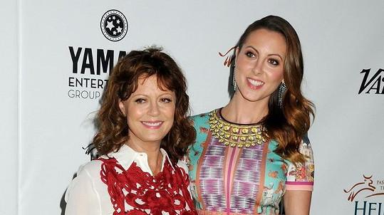 Eva Amurri se svou slavnou matkou Susan Sarandon