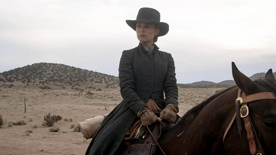Natalie Portman ve filmu Jane Got a Gun.
