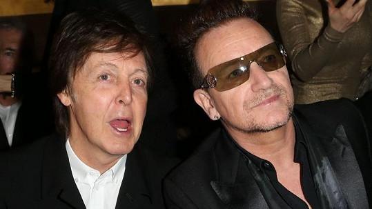 Bono je díky chytré investici bohatší než Paul McCartney.