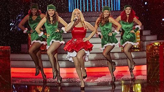 Marta Jandová jako vánoční Mariah Carey