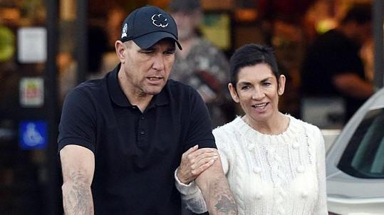 Vinnie Jones s manželkou Tanyou