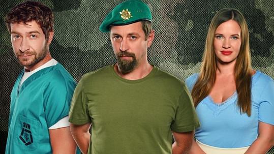 Marek Němec, Jan Dolanský a Kristýna Leichtová jsou hlavními tvářemi nového seriálu 1. Mise.