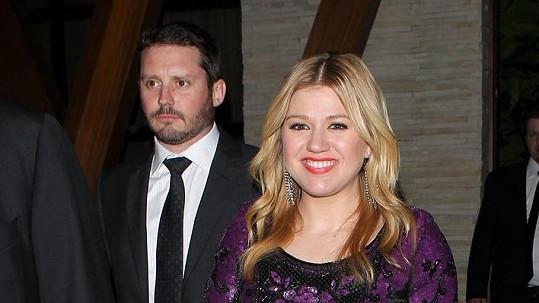 Kelly Clarkson s partnerem Brandonem Blackstockem