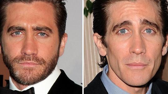 Jake Gyllenhaal se změnil k nepoznání.