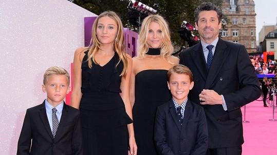 Patrick Dempsey udržel rodinku pohromadě.