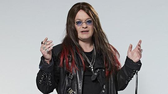 Aleš Háma jako Ozzy Osbourne