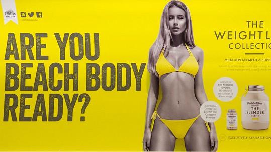 Reklama na hubnoucí prostředek se dotknula spousty žen.
