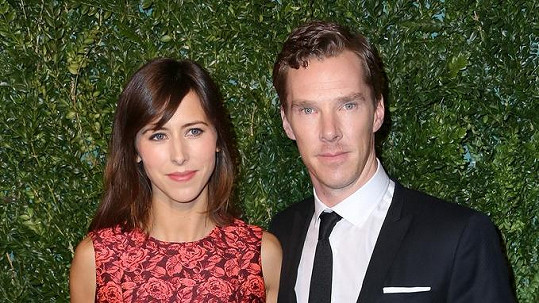 Benedict Cumberbacht a jeho budoucí manželka Sophie Hunter