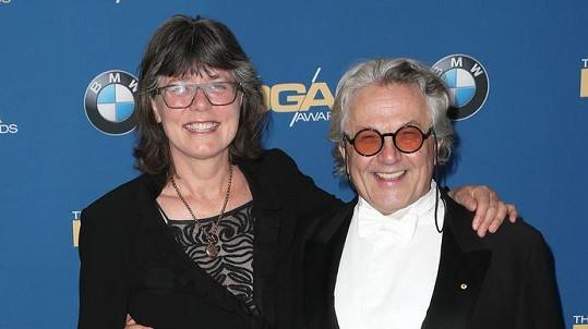 George Miller s manželkou Margaret Sixel