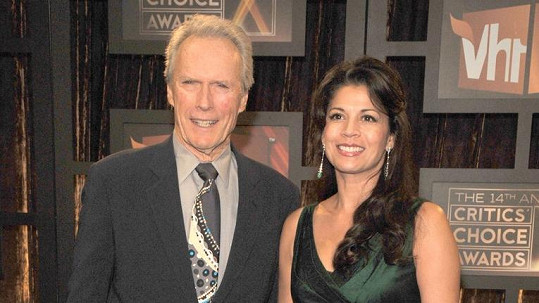 Clint Eastwood s exmanželkou Dinou
