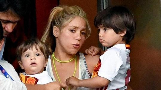 Shakira už na fotbalovém Euru dofandila...