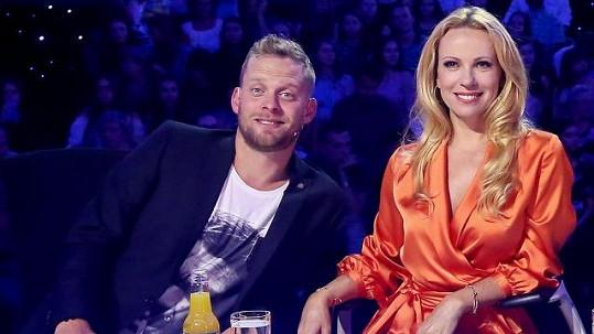 Diana a Jakub spolu zasedli v porotě Talentu.