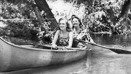 První větší scénu Marilyn z filmu Scudda Hoo! Scudda Hay! (1948) vystřihli.