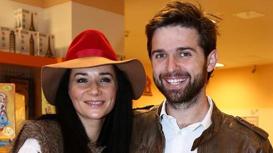 Sandra Nováková s přítelem Vojtou Moravcem